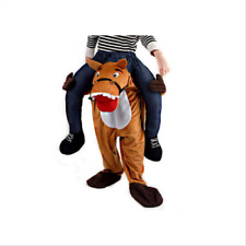 Piggyback Ride On Horse Carry Me Adult Fancy Dress Mascot Costume New