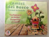 Amis Du Forêt Forest Friends Petite Maison en Bois De Construction Jeu Enfants