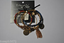 Alex and Ani Set of 5 Gold Berrylicious NWT Sugarcube; Gypsy Sweetheart; LIVE;