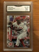 2020 TOPPS SERIES 1 #20 ARISTIDES AQUINO RC REDS GRADED GEM MINT 10
