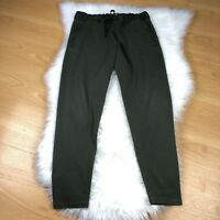 COS Army Green Joggers Casual Lounge Pants Size Small