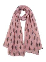 Ladies Scarf With Bumble Bee Bees design Good Quality Available In 8 colours