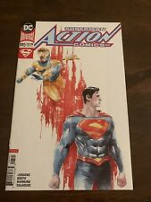 ACTION COMICS # 995 DUSTIN NGUYEN VARIANT COVER NM CONDITION