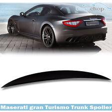 STOCK IN USA ▶ Unpainted Maserati Gran Turismo Coupe 2DR Sport MC Trunk Spoiler