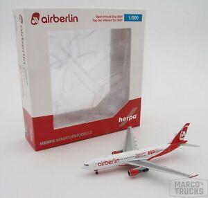Herpa Wings 1/500 Airbus A330-200 BER airberlin Reg. D-ALPJ 531290-001 /HN1381