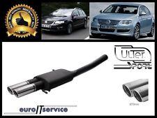 SILENCIEUX POT D'ECHAPPEMENT VW PASSAT B6 3C 2005-2007 2008 2009 2010 TIP 2x70