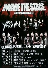 INSIDE THE STAGE - 2012 - Tourplakat - Yashin - Dear Superstar - Glamour of the