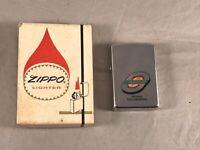 VINTAGE 1972 ZIPPO LIGHTER STANDARD TRUCKING COMPANY IN ORIGINAL BOX  N.C.  NOS