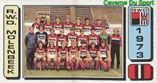 204 EQUIPE TEAM ELFTAL BELGIQUE RWD.MOLENBEEK STICKER FOOTBALL 1983 PANINI