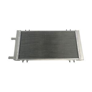 2 Row Universal Aluminum Radiator Air to Water Intercooler Heat Exchanger Silver