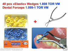 40 Elastic Fixing Wedges Composite + Forceps Matrices Matrix (as Palodent )TOR