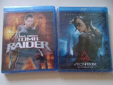 Tomb Raider/ Aeon Flux. 2 Pack. Blu-Ray Disc, Factory Sealed
