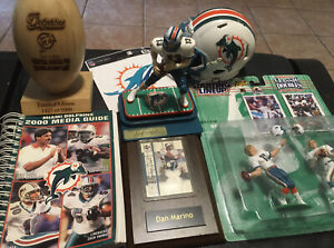 Miami Dolphins Limited Edition Lot New Dual Dan Marino Bob Griese NFL Game Used