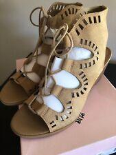 7ac4707b235 Women s Size 10M Beige Crown Vintage Wedge Sandals