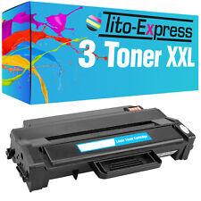 3x laser-Toner XL ecoserie per Samsung scx-4727 FD ml-2950 ND mlt-d103l
