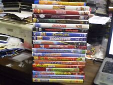 (21) Children's Animal DVD Lot: (4) Disney Narnia  Aristocats  Lorax Chicken Run