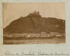Allemagne, Braubach, le château de Marksburg vintage albumen print,Photos prov