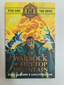 Fighting Fantasy: The Warlock of Firetop Mountain book choose your own adventure