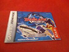 Beyblade Vforce Nintendo Game Boy Advance Instruction Manual Booklet V Force