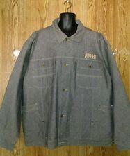 Men's Pelle Pelle by Marc Buchanan Rhapsody Blues XXl  Grey Denim Jean jacket