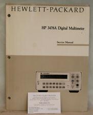HP3478A Digital Multimeter Service Manual