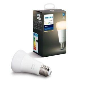 PHILIPS HUE Warm White E27 Single Bulb Wireless Bluetooth Lighting - BNIB SEALED