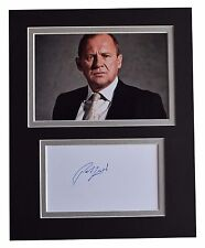 Peter Firth Signed Autograph 10x8 photo display Spooks TV AFTAL & COA