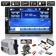 "7"" Stereo Bluetooth Mp5 Player Car Radio Hd Touch Screen Fm/Aux/Usb/Tf +Camera (Fits: Scion xA)"