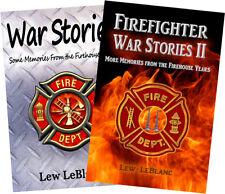 War Stories & Firefighter War Stories 2: Memories from FirehouseYears,2-book set