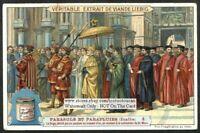 Doge Of Venice Umbrella Parasol Italy c1904 Trade Ad Card