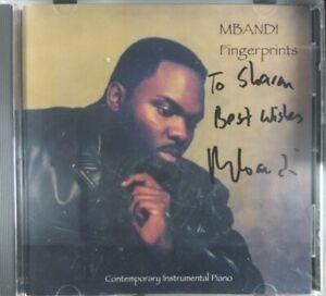 (Autographed / Signed) Mbandi Fingerprints contemporary instrumentla piano CD