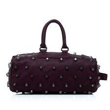 Noble Bags Pernelle Punk XL Rivets Umbra Damen Ledertasche 3Handle Griff VP 399€