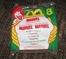 1996 McDonalds Happy Meal Toy - The Human Torch #8 - Marvel