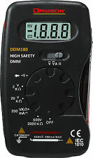 Dawson DDM180 Pocket AC/DC Resistance Digital Multimeter