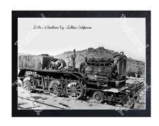 Historic Ludlow & Southern Ry - Ludlow, California Train Postcard