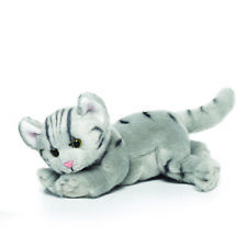 Cat Grey Tabby Plush Toy  BNWT 30cm by Nat and Jules