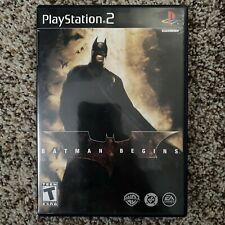 Batman Begins (Sony PlayStation 2, 2005) Ps2 Complete & Tested With Manual