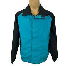 10X Gore-Tex Blue Black Mens Full Zip Rainwear Snow Coat Winter Jacket A014