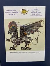 Mechanical Griffin - Artifact Wood Whimsy Steampunk Puzzle Fun Added Surprise