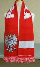 Poland Soccer Scarf ~ Country of Poland Scarf Polska