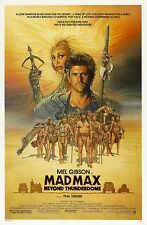 MAD MAX BEYOND THUNDERDOME (1985) ORIGINAL MOVIE POSTER  -  ROLLED  -  AMSEL ART