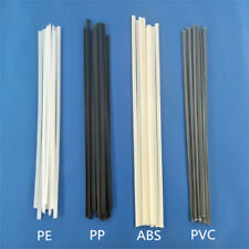 Bumper plastic welding rod PP/ABS/PVC/PE black flat electrode Plastic welding