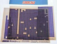 FIAT DUCATO Diesel Typ 230 7.Auflage 01-1997 original Ersatzteil Katalog ETK