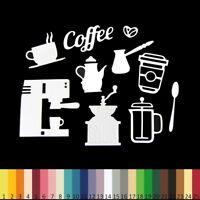 LOT Découpes en papier _ CAFE COFFEE de 1 à 5cm _ Die cut scrapbooking carterie