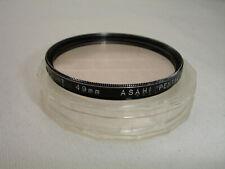 ASAHI PENTAX 49mm Skylight filter with case JAPAN
