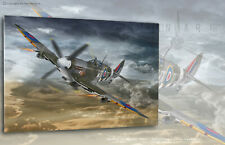 "Spitfire LF Mk.IXc ""PAT"" 302SQ H. Dygala - Aviation Art Canvas print"