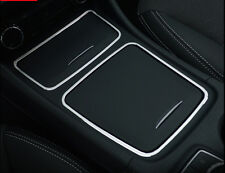 Cigarette Ashtray Panel + Storage Box Cover For Mercedes Benz GLA X156 2014-2018