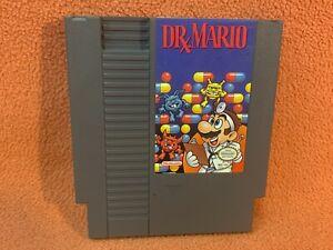 Dr. Mario Nintendo NES Original Authentic Retro Classic Game!