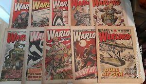 10X 1970s WARLORD COMICS LOT 4