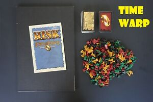 RISK LORD OF THE RINGS REPLACEMENT 126 CARDS, GAME PIECES & GAME BOARD